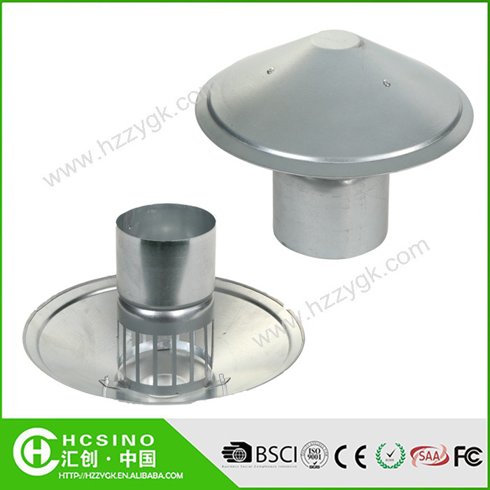 Waterproof Vent Pipe Cap/galvanized Steel Cowl Vents/roof Cowl Mushroom Air  Vent For Kitchen Bathroom   Buy Roof Vent Cap,Cowl Vents,Mushroom Air Vent  Cap ...