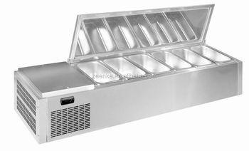 Restaurant Equipment Salad Bar Refrigerator
