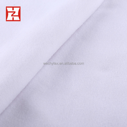 top 10 plain dyed brushed knit white fabric cloth, cheap white fabric roll