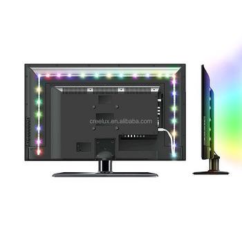 200 cm usb rétroéclairage tv,biais led kit de lumières de bande de