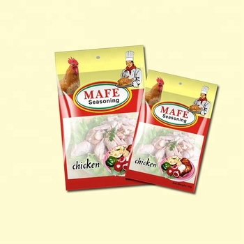 Mix condiments Mafe 10g halal chicken poulet seasoning powder