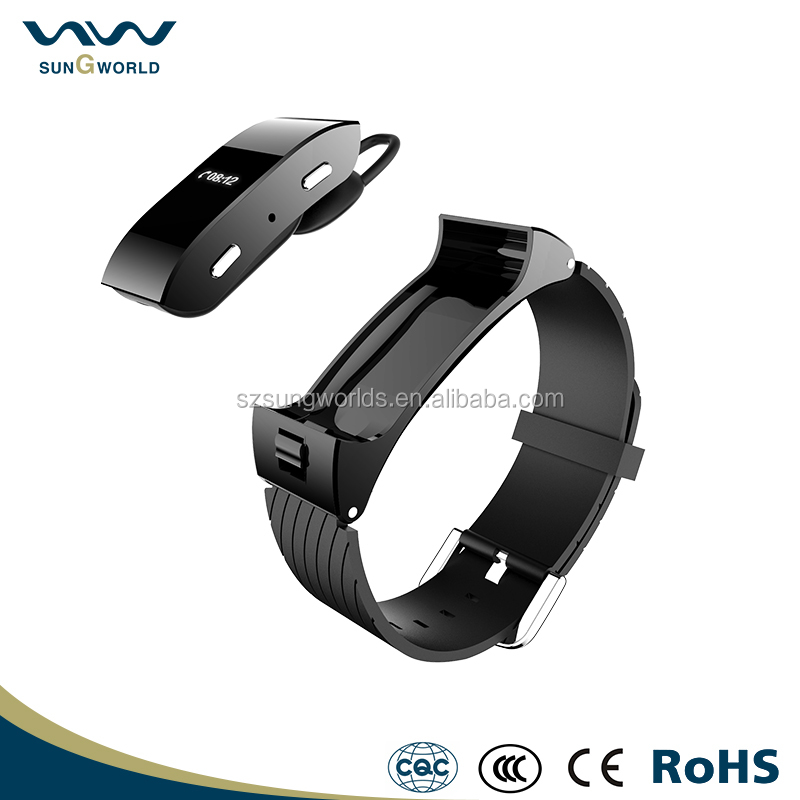 USB charging bluetooth smart watch movement healthy bracelet