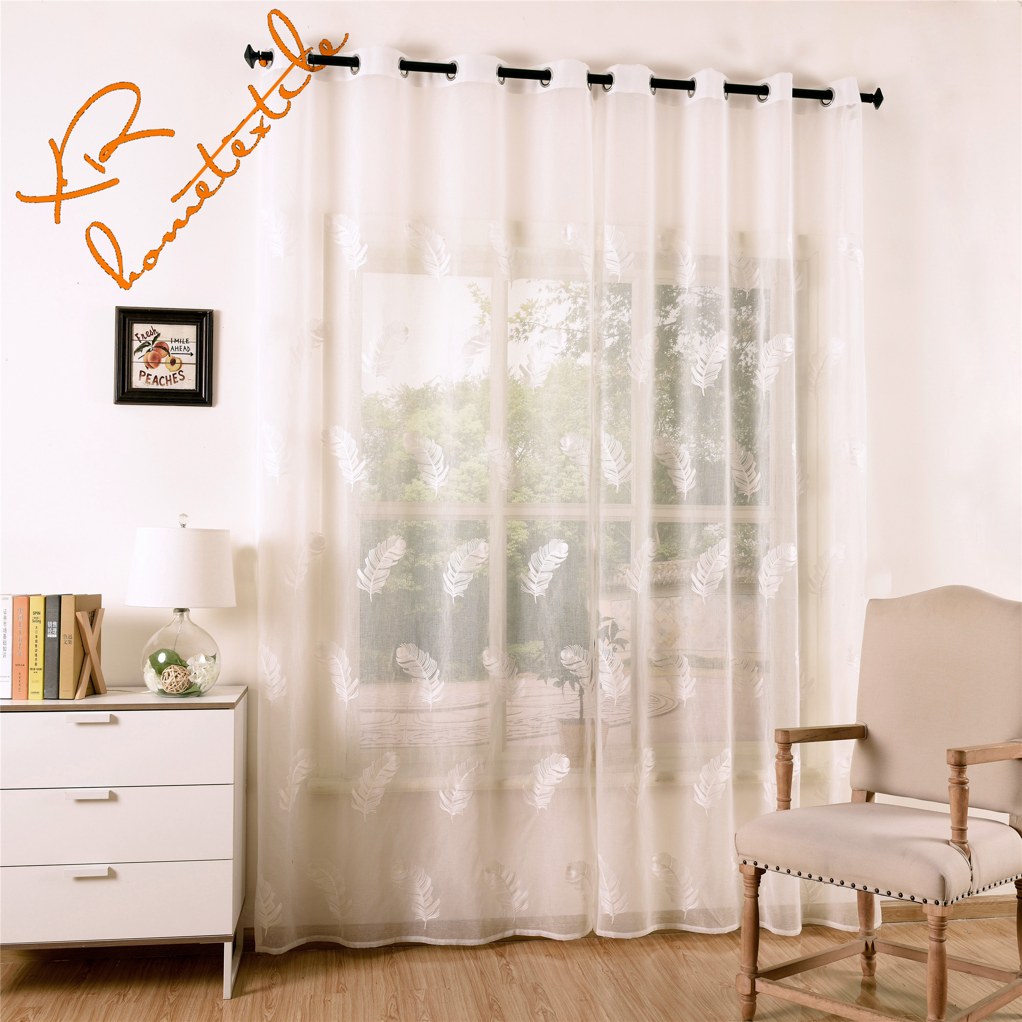 Factory Wholesale European Strongcurtain Strong Strongembroidered
