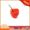 RENJIA Silicone Mate Gourd drinking Yerba Mate Silicone Gourd with Bombilla