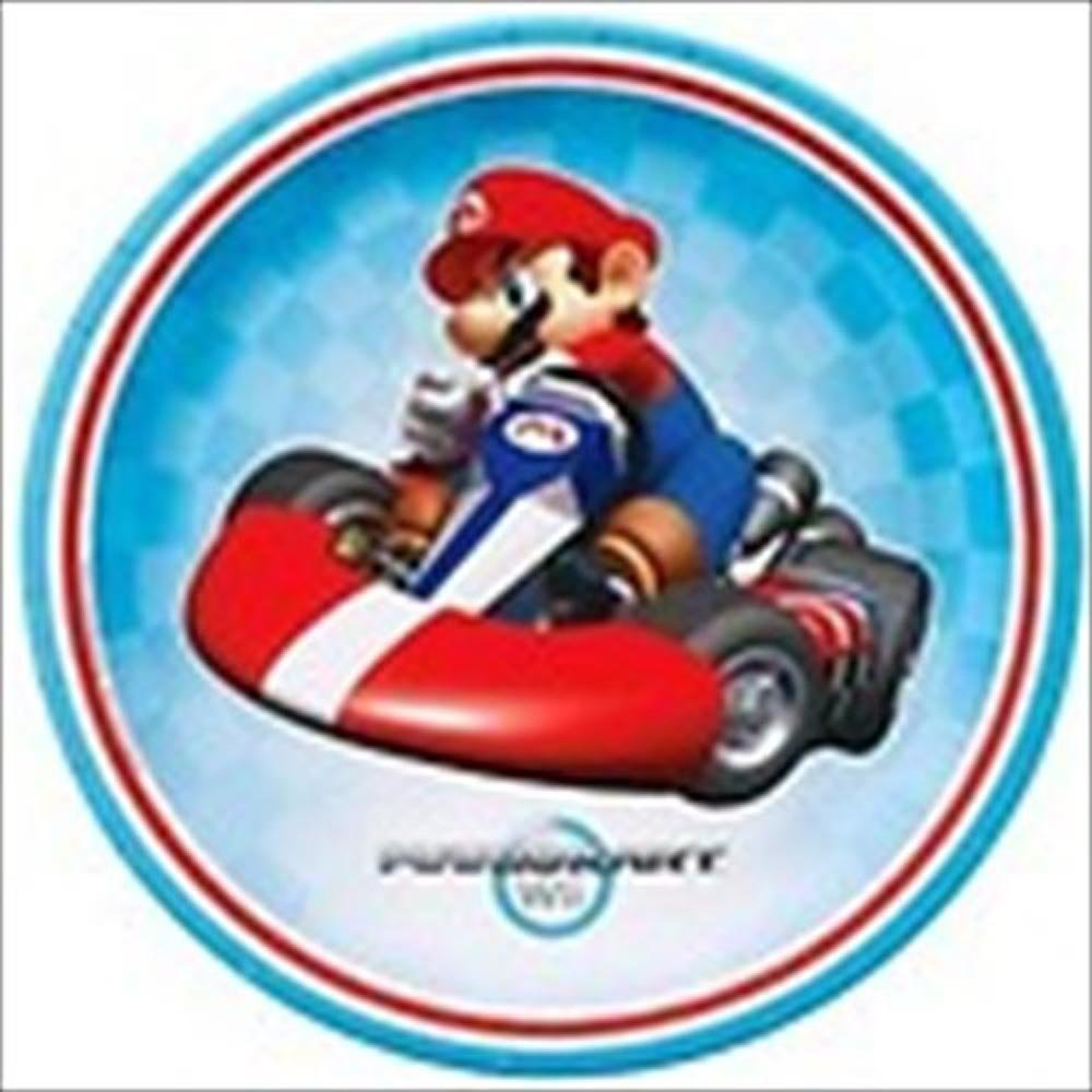 Super Mario Brothers 'Mario Kart Wii' Large Paper Plates (8ct)