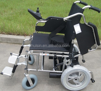 Multifunction All Terrain Folding Electric Power Wheelchair For