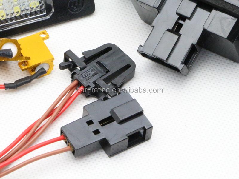 Manufacturer Led License Plate Light Resistor For Vw Touareg Golf ...