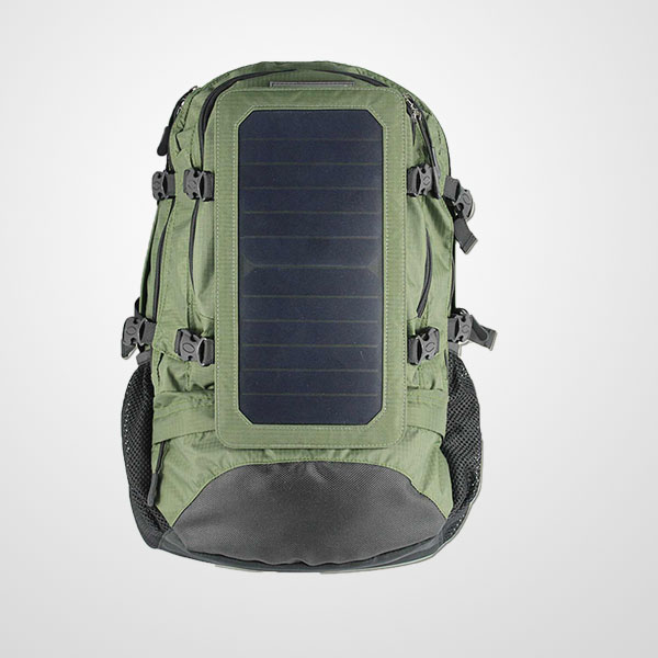 7watts Solar Chargeable Backpack Solar Panel Bag With