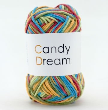 Hand knitting yarn-fancy with harmonious colors