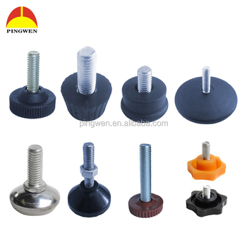 Whole Adjule Feet Levelers Table Leveling Legs Plastic Articulated