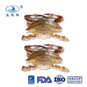 China good grade frozen blue swimming crab whole round