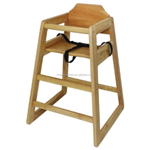 Stackable Wooden Baby Feeding High chair / Baby High Chair