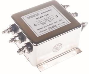 DAC1-10A 3 Phase AC noise power line filter
