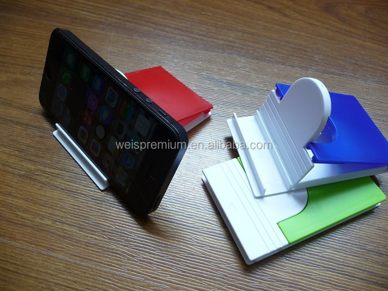 New design Plastic funny cell phone holder for desk