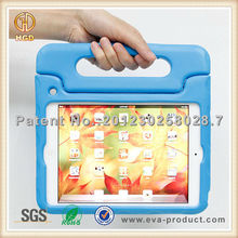 anti shock drop EVA rotatable hand hold case for ipad mini