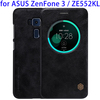 Business Style Leather Case for ASUS ZenFone 3 Case with Sleep / Wake-up Function