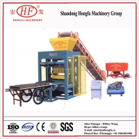 QTJ4-26 Cheap Cement Block Making Machine/Semi Automatic Concrete Block Making Machine/Manual Pavers Interlocking Machine