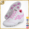 Most comfortable red and pink color lady and girls' athletic shoe