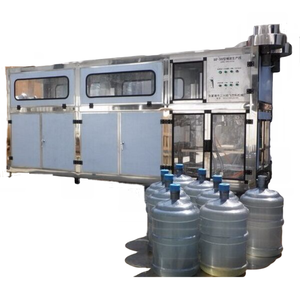 QGF-240 full automatic barrel washing filling capping barrel package production line