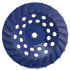 7' 180mm' Turbo Diamond Wheel Cups for Stone and Concrete