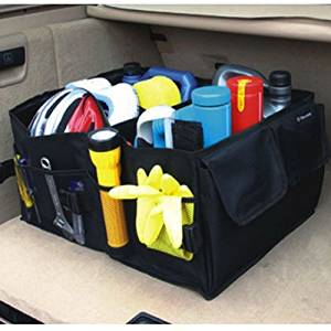 Juntu Cargo Organizer Folding Boxes Foldable Cargo Storage Container Box Bag Case For All Kinds Of SUV (55cm*40cm*26.5)