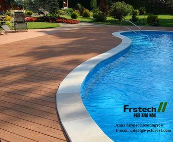 140x25mm Waterproof Outdoor Deck Flooring Outdoor