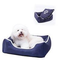 Soft square warm approved pet dog cushion , luxury square pet bed , dog bed luxury
