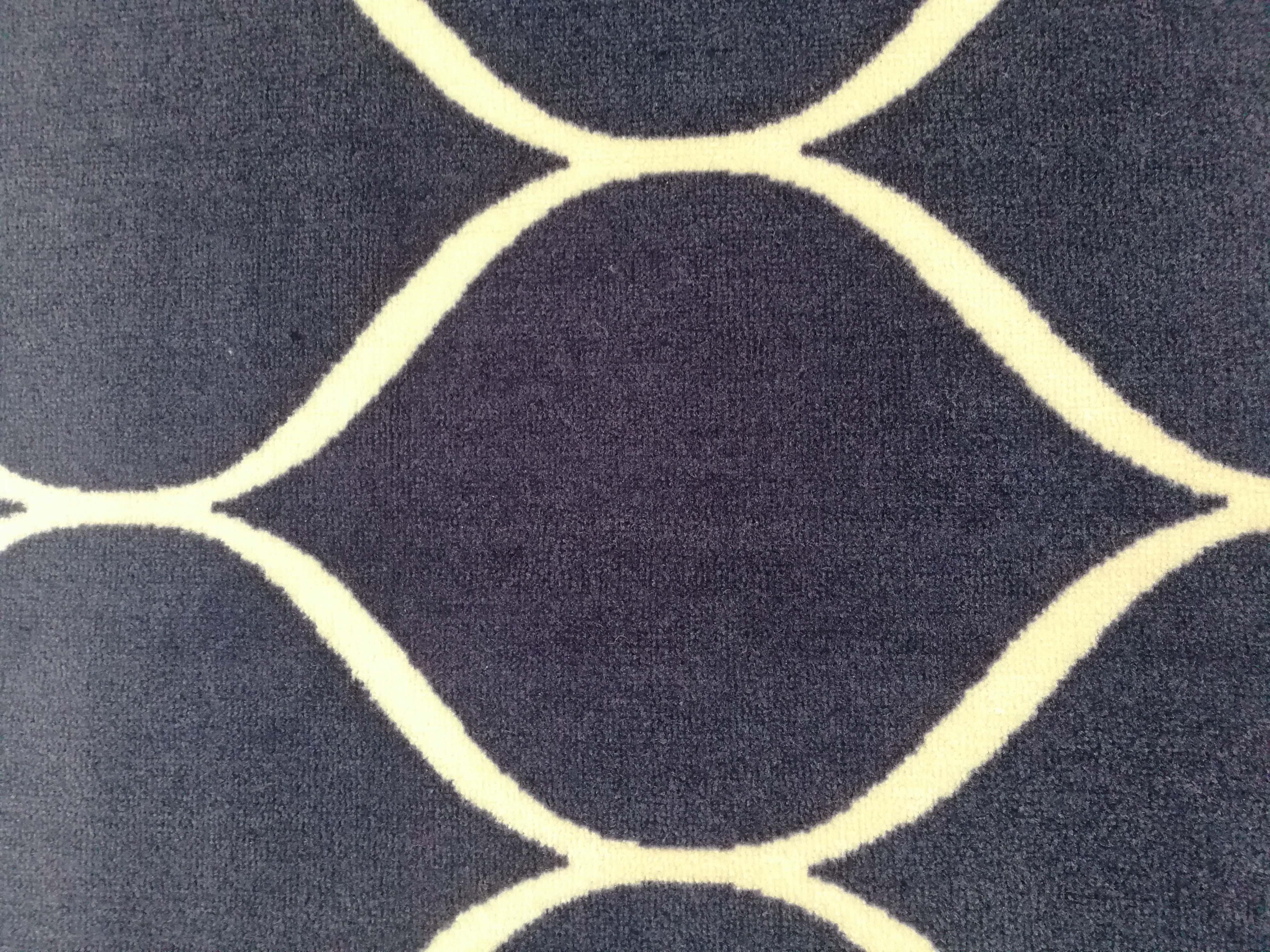 Design moderno Poli Impresso Poliéster Antiderrapante Tapete Tapete de Área Tapete Casa Sala de estar Impresso