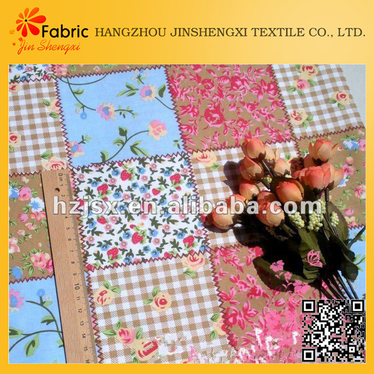 Shrink-resistant home texitle cotton cheap patchwork fabric manufacturer