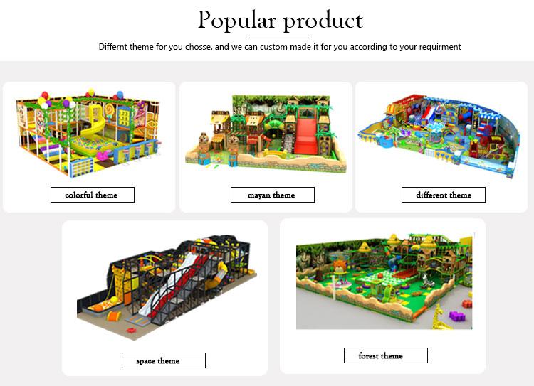 Commerciale soft play bambini piccoli attrezzature parco giochi al coperto di affari