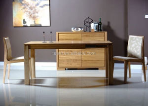 extending wood dining table bamboo kitchen table and chair