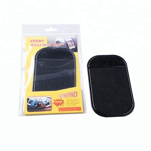 Powerful Silica Gel Magic Sticky Pad Anti Slip Non Slip Mat for Phone PDA mp3 mp4 Car Accessories Multicolor