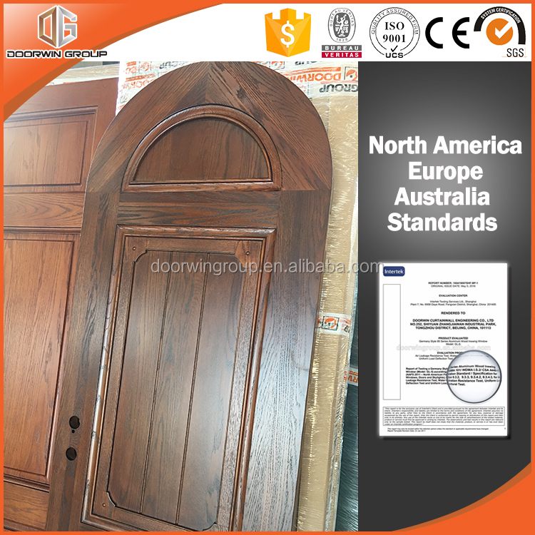 French style hand carved single interior room solid timber door