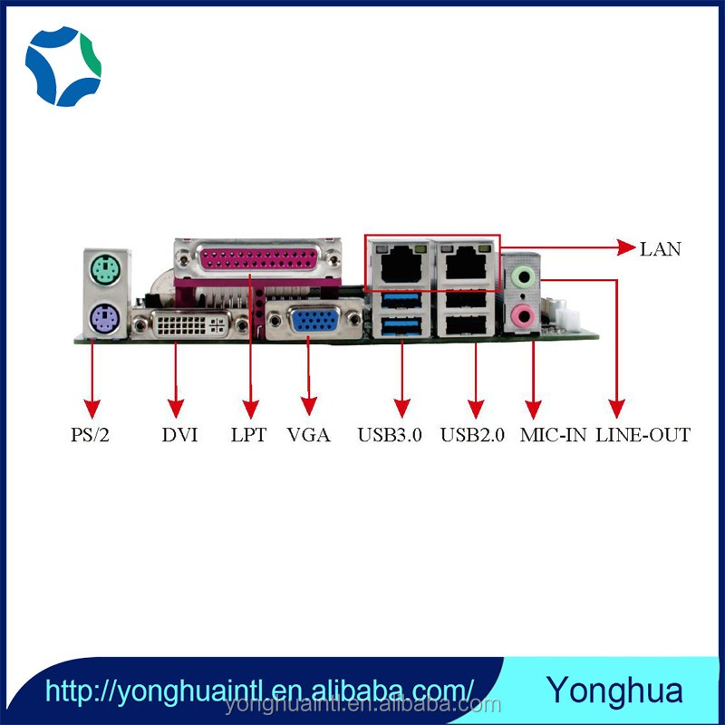 2017 Manufacturer notebook motherboard mainboard with Laptop