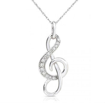Nota musical de plata colgante plata 925 nota musical smbolo collar nota musical de plata colgante plata 925 nota musical smbolo collar aloadofball Images
