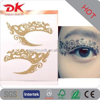 Henna Eyeliner Sticker Cosmetic Fashion Art Decal Henna Eyebrow