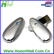 OEM Noble Gift Mini High Quality Cute and Beautiful Water Drop Shape Jewelry USB Pen Drive