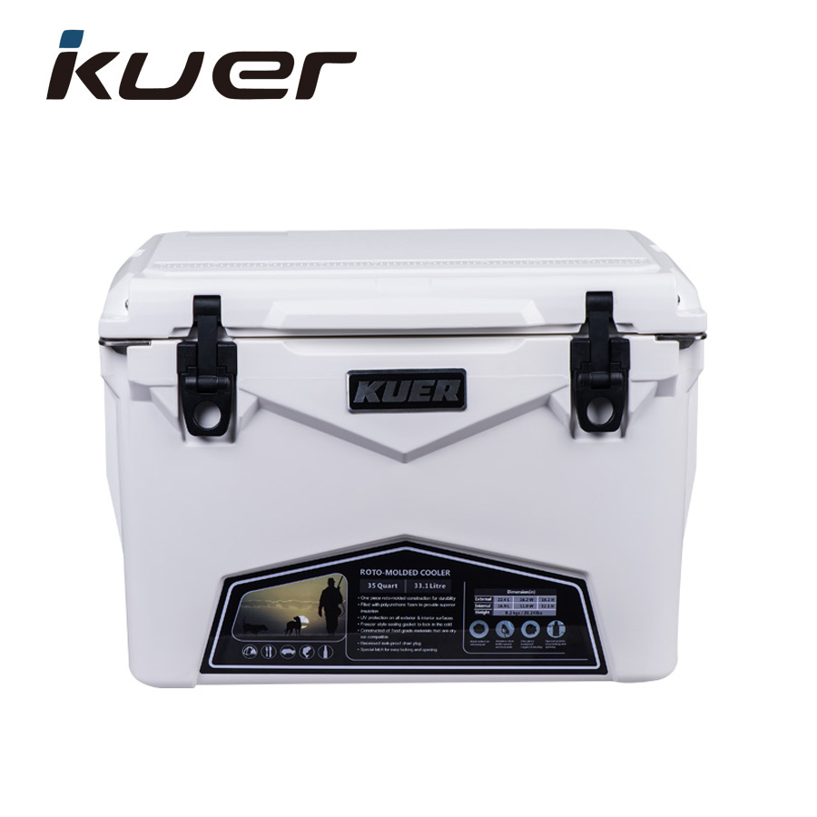 2017C KUER 60QT food drinks outdoor recreation ice chest plastic Roto-molded storage Cooler box