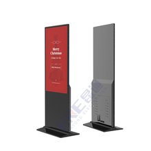 55 zoll digital signage display media player stand lcd werbung player