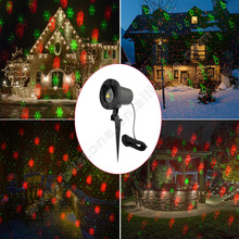 BS CUL UL SAA Approval 8 Images Animation Christmas Lazer Light With Remote control