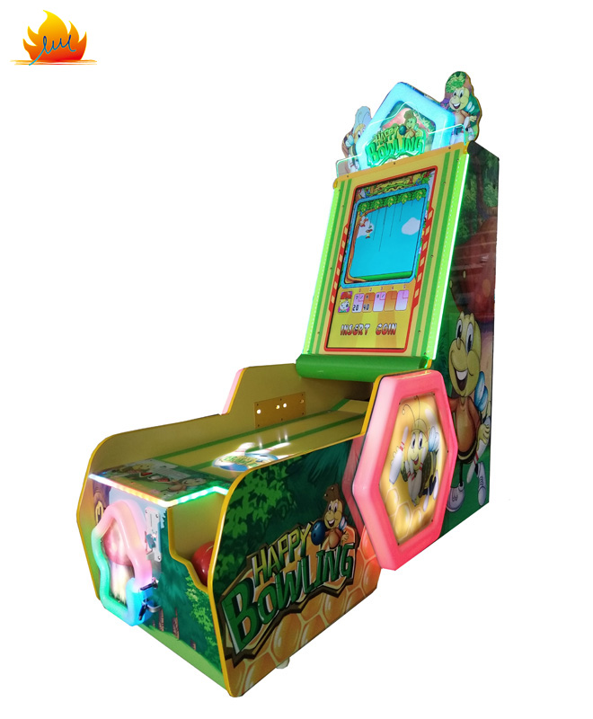 Hot Sale Kids Happy Bowling Ticket Redemption Video Game Machine From Guangzhou Games Manufacturer