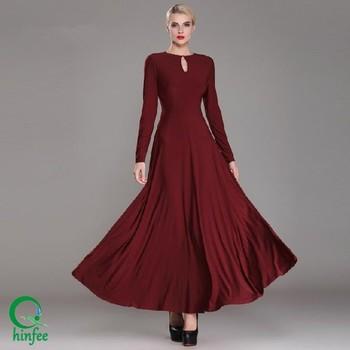 Long Maxi Red Dress