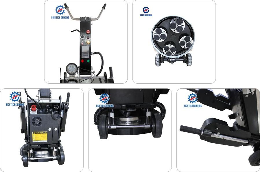 industrial concrete floor grinding machine