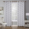 wholesale high quality curtain sheer window curtain 100%polyester curtain