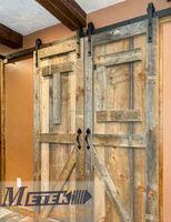 Rustic rolling barn doors- hardware