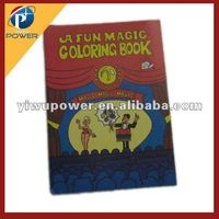 The Magic cartoon coloring book magic trick street magic close up prop