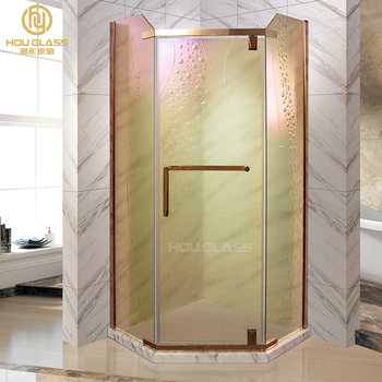 High Quality US Certificated And As2047 Standard shower enclosure glass with pattern Steam Shower Room foshan