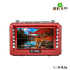 USB portable video player EL-601 9 inch mp4 player