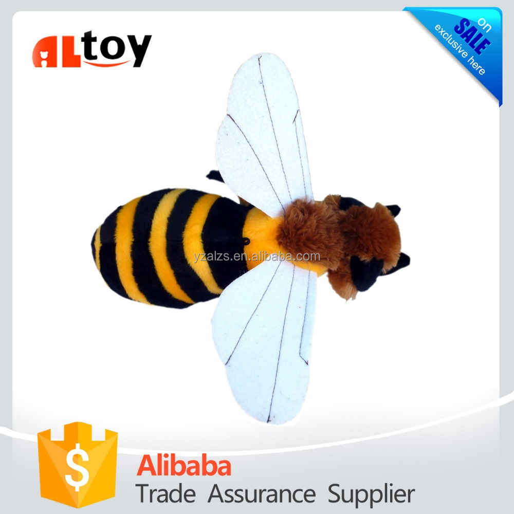 ADORE Honey Bee Plush Stuffed Animal Toy