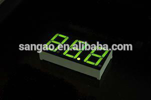 12 inch mini 7 segment led display Common Anode large 7 segment led display 5 inch 7 segment led display